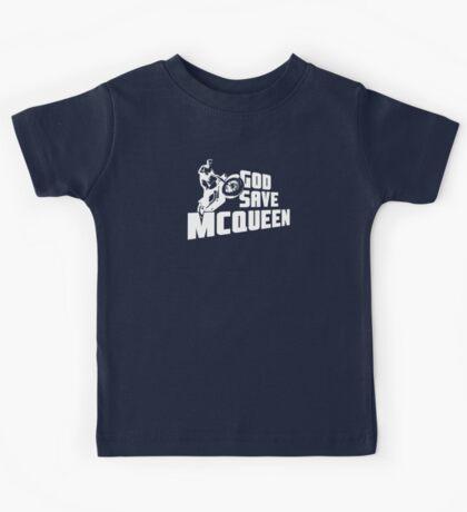 God Save McQueen Kids Tee