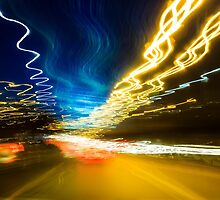 Late Drive Back by Yorkwaypictures
