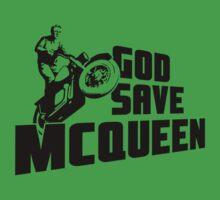 God Save McQueen Baby Tee