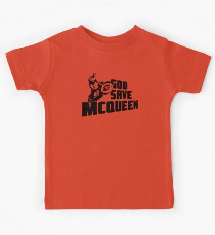 God Save McQueen Kids Tee
