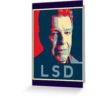 LSD Poster Greeting Card
