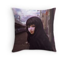 Aobadai Throw Pillow