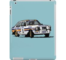 Fortitude's Ford Escort Mark 2 BDA Cosworth iPad Case/Skin