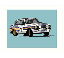 Fortitude's Ford Escort Mark 2 BDA Cosworth Art Print