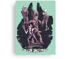 Falcon Brothers Canvas Print