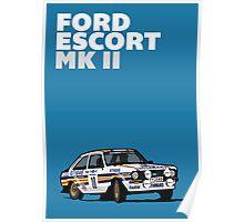 Fortitude's Ford Escort Mark 2 BDA Cosworth Poster