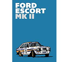 Fortitude's Ford Escort Mark 2 BDA Cosworth Photographic Print
