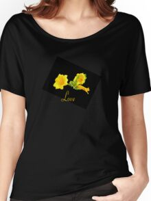 Love in Yellow Women's Relaxed Fit T-Shirt