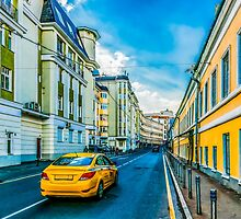 Yellow Taxi by luckypixel