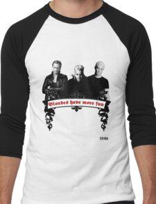 Blondes Have More Fun Men's Baseball ¾ T-Shirt