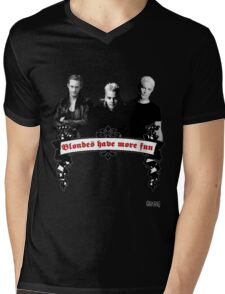 Blondes Have More Fun Mens V-Neck T-Shirt