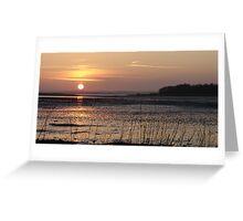 Greyabbey Sunset II Greeting Card