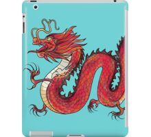 Oriental Red Dragon iPad Case/Skin