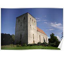 Pöide Church Poster