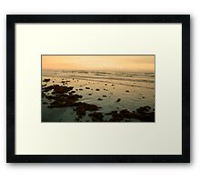 Calm and Quiet Framed Print