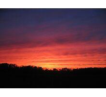 2006 Super Bowl Sunset Photographic Print