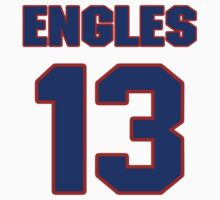 National football player Rick Engles jersey 13 by imsport