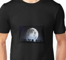 People by the moon Unisex T-Shirt