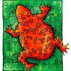 Orange Frog by Julie Nicholls