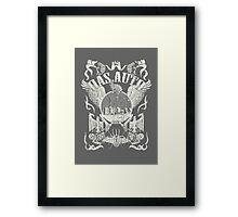 Fortitude's Volkswagen Art (Off White) Framed Print
