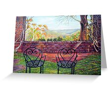 Nature's Window, Blue Mountains Greeting Card