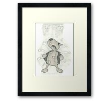 Who are you talking too?  Framed Print