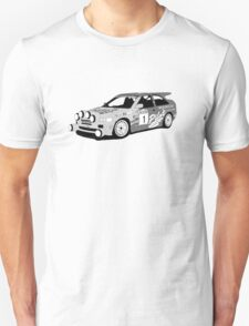 Fortitude's 'Malcolm Wilson' Michelin Pilot Ford Escort Cosworth  T-Shirt