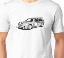 Fortitude's 'Malcolm Wilson' Michelin Pilot Ford Escort Cosworth  T-Shirt
