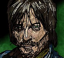 Daryl Dixon by mikebone