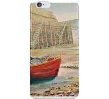 Clovelly Harbour, Devon iPhone Case/Skin