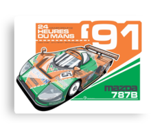 MAZDA - 787B GROUP C2 Canvas Print