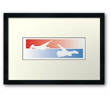 Latios / Latias Framed Print