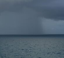 Rain Storm at Sea by Jim Roche