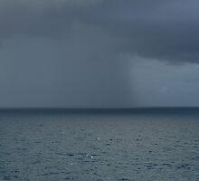 Rain Storm at Sea by Jim Roche