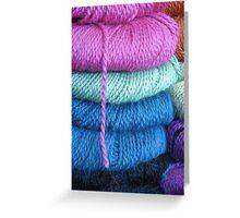 yarn shop Greeting Card