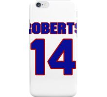 National football player Hal Roberts jersey 14 iPhone Case/Skin