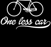 One Less CAR by inkedcreatively