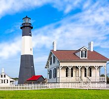 Morning at Tybee Lighthouse by Mark Tisdale