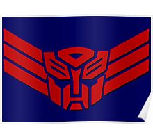 Transformers Autobot Logo Poster