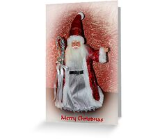 Saint Nick Merry Christmas Greeting Card