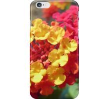 Yellow and Red Flower iPhone Case/Skin