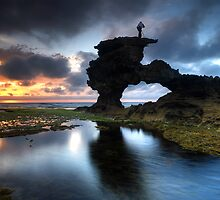 Sunset Vantage Point by Robert Mullner