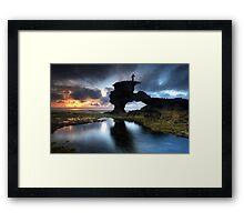 Sunset Vantage Point Framed Print