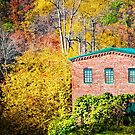 Roswell Mill in Fall by Mark Tisdale