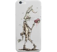 Bugs Zombunny (Sepia) iPhone Case/Skin