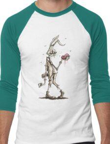 Bugs Zombunny (Sepia) Men's Baseball ¾ T-Shirt