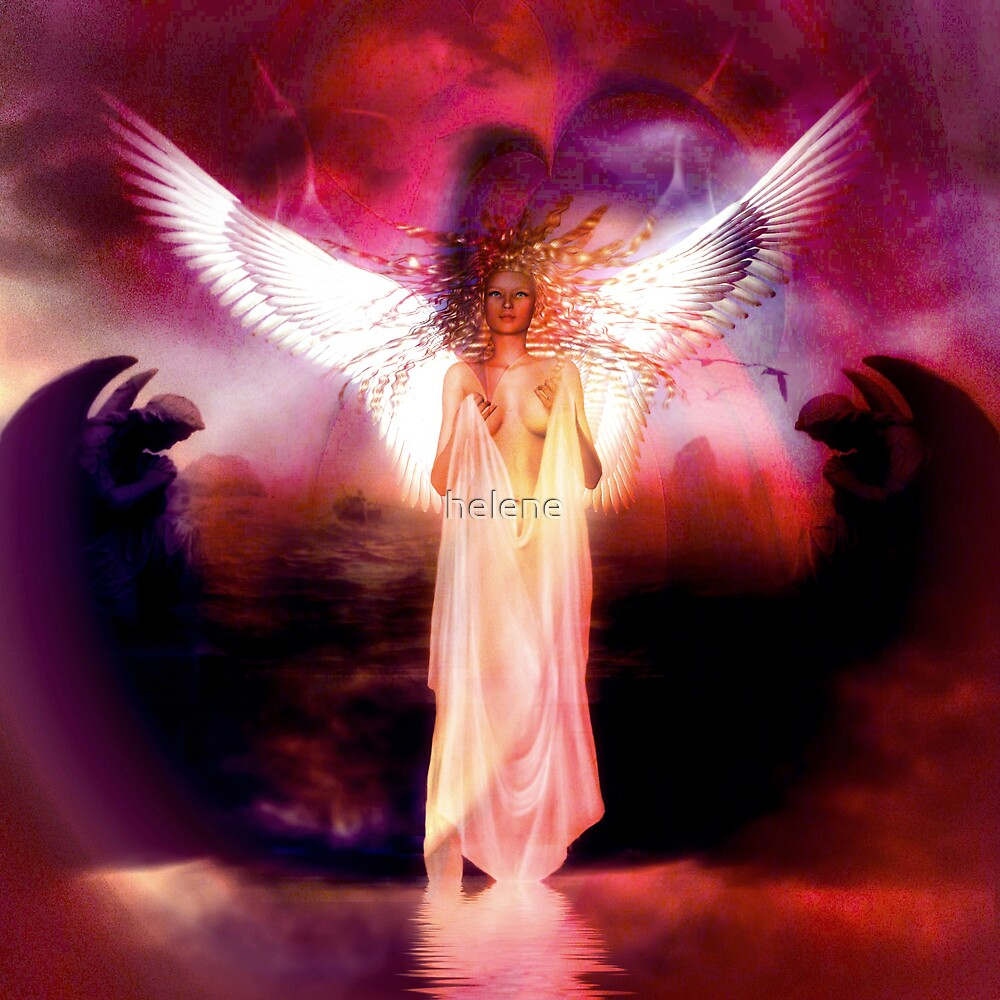 Solstice Angel 3 by helene