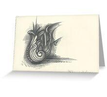 Detailed Spiral Greeting Card
