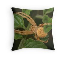 Lying in Wait. Throw Pillow