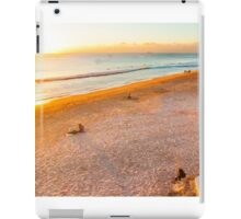 waiting for Christmas by the sea iPad Case/Skin